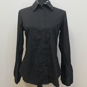 Burberry Button Down Dress Shirt With Silky Detail
